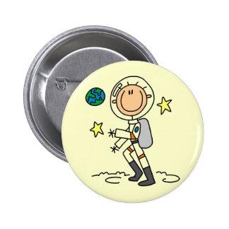Camisetas y regalos básicos del astronauta pin