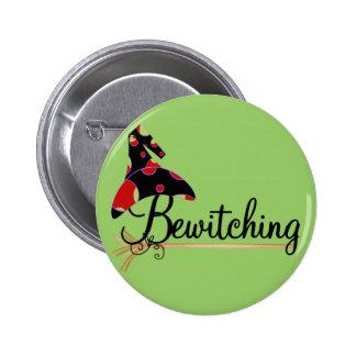 Camisetas y regalos Bewitching de Halloween Chapa Redonda De 5 Cm