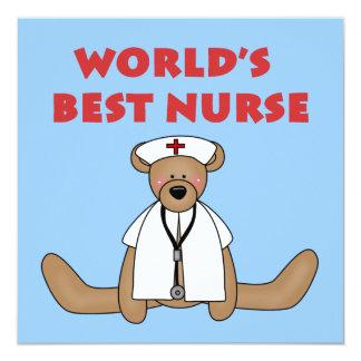 Camisetas y regalos de la enfermera del mundo del anuncio