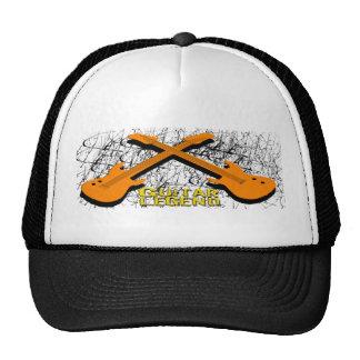 Camisetas y regalos de la leyenda de la guitarra gorras de camionero