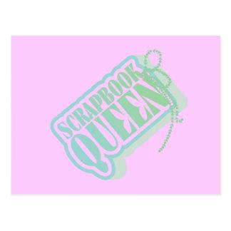Camisetas y regalos de la reina del libro de postal