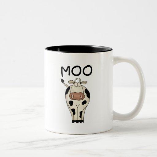 Camisetas y regalos de la vaca del MOO Taza De Café