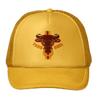 Camisetas y regalos de los toros de las ilustracio gorras