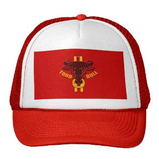 Camisetas y regalos de los toros de las ilustracio gorros bordados