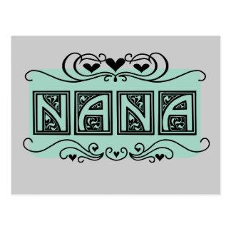 Camisetas y regalos de Nana del letrero Postal