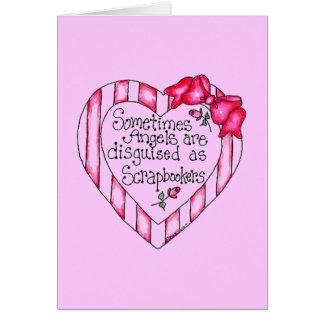 Camisetas y regalos de Scrapbooker del corazón del Felicitaciones