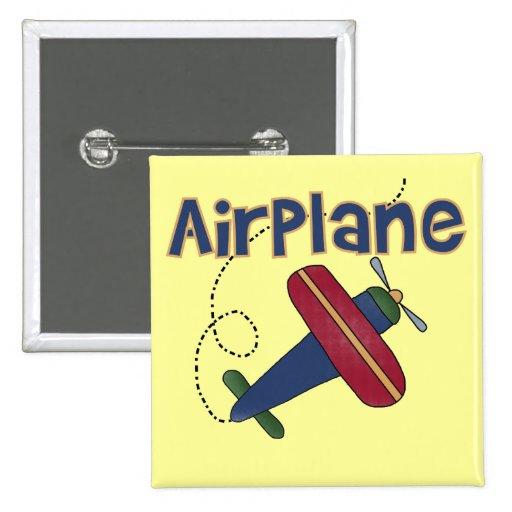 Camisetas y regalos del aeroplano pins