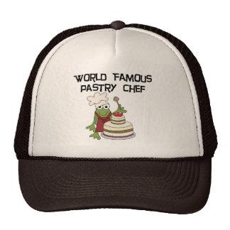 Camisetas y regalos del chef de repostería de la r gorro