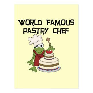 Camisetas y regalos del chef de repostería de la r postales
