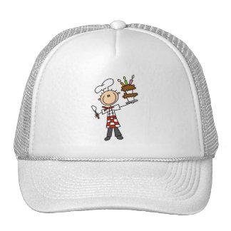 Camisetas y regalos del chef de repostería gorras