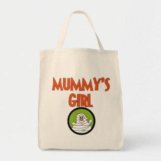 Camisetas y regalos del chica de la momia bolso de tela