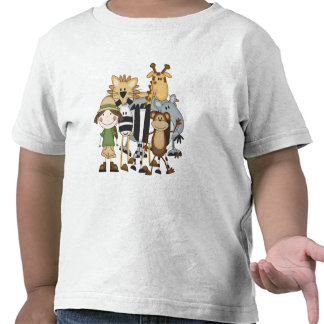 Camisetas y regalos del chica del safari