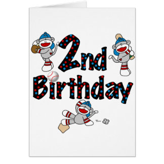 Camisetas y regalos del cumpleaños del béisbol del tarjetón