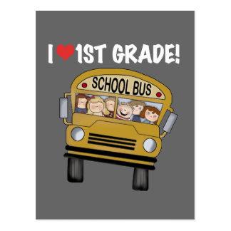 Camisetas y regalos del grado del amor del autobús postal