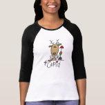 Camisetas y regalos del navidad del reno del Cupid