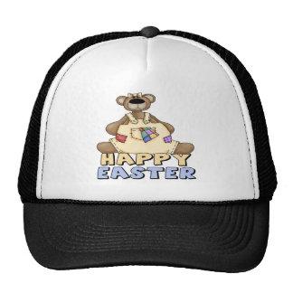 Camisetas y regalos del oso de peluche de Pascua Gorros Bordados