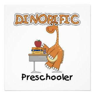 Camisetas y regalos del Preschooler de Dinorific Comunicados Personalizados