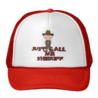 Camisetas y regalos del sheriff gorras