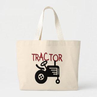 Camisetas y regalos del TRACTOR Bolsa Tela Grande