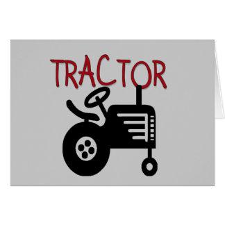 Camisetas y regalos del TRACTOR Tarjeta De Felicitación