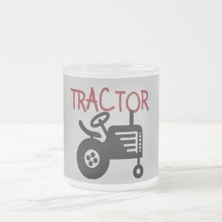 Camisetas y regalos del TRACTOR Taza Cristal Mate