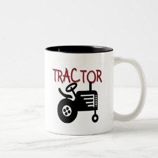 Camisetas y regalos del TRACTOR Taza Dos Tonos
