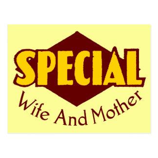 Camisetas y regalos especiales de la esposa para postal
