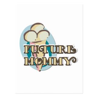Camisetas y regalos futuros de la mamá del helado postal