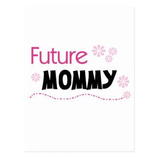 Camisetas y regalos futuros de la mamá postal