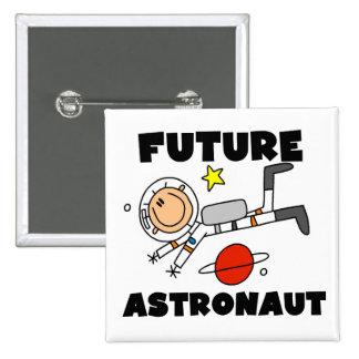 Camisetas y regalos futuros del astronauta pin