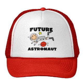 Camisetas y regalos futuros del astronauta gorro