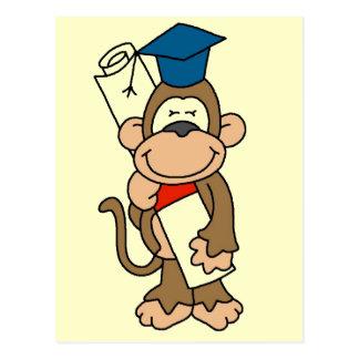 Camisetas y regalos graduados del mono postal