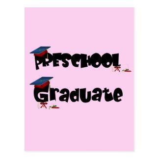 Camisetas y regalos graduados del preescolar postal
