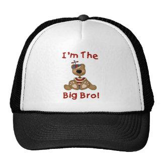 Camisetas y regalos grandes de Bro del oso de pelu Gorro De Camionero