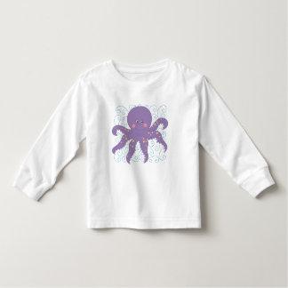 Camisetas y regalos púrpuras del pulpo