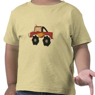 Camisetas y regalos rojos del monster truck
