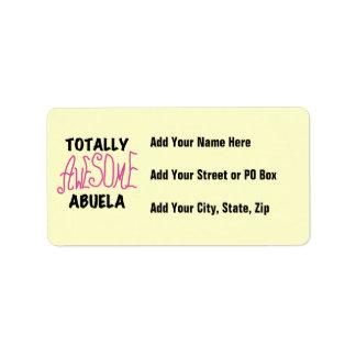 Camisetas y regalos rosados totalmente etiquetas de dirección