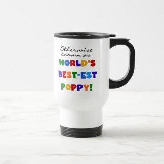 Camisetas y regalos si no sabidos de la amapola taza de viaje