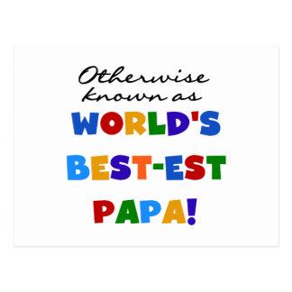 Camisetas y regalos si no sabidos de la papá postal