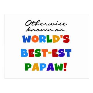 Camisetas y regalos si no sabidos del Papaw Postal