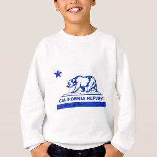 camo blue.png del oso de California Sudadera