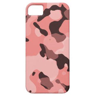 Camo coralino ligero; Camuflaje iPhone 5 Carcasas