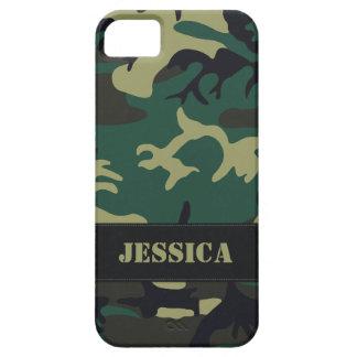 Camo militar adaptable iPhone 5 protectores