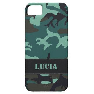 Camo militar adaptable iPhone 5 Case-Mate cobertura
