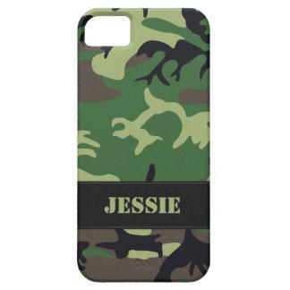 Camo militar adaptable iPhone 5 funda
