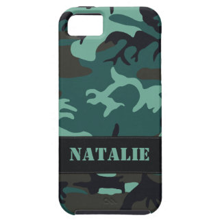 Camo militar adaptable iPhone 5 cobertura