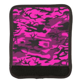 Camo rosado extranjero cobertura para asa de maleta