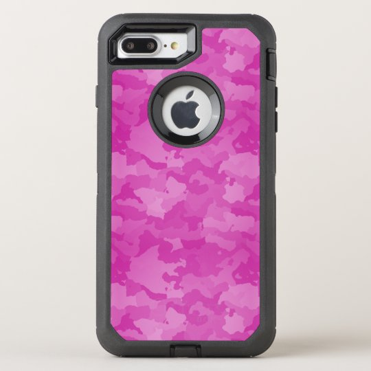 Camo rosado funda OtterBox defender para iPhone 7 plus