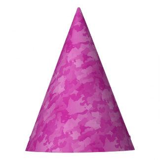 Camo rosado gorro de fiesta