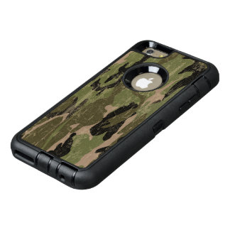 Camo verde descolorado funda otterbox para iPhone 6/6s plus